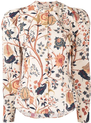 Ulla Johnson Floral Print Shirt