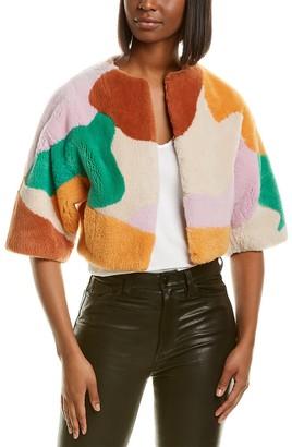 Missoni Colorblocked Crop Jacket