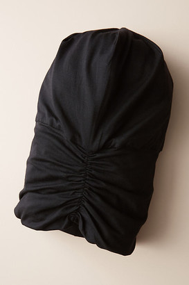 Kitsch Satin-Lined Jersey Sleep Beanie By in Black
