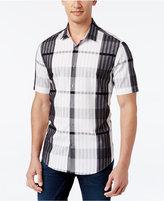 Alfani Men's Plaid Slim-Fit Shirt, Only at Macy's