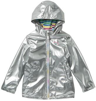 Pink Platinum Solid Rain Jacket (Toddler Girls)