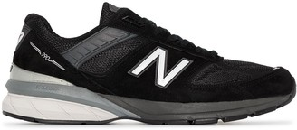 New Balance 990v5 Suede Low-Top Sneakers