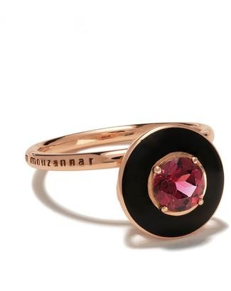 Selim Mouzannar 18kt rose gold rhodolite Mina ring