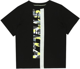 Stella Mccartney Kids Printed cotton T-shirt
