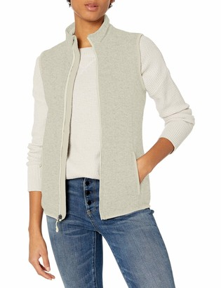 Charles River Apparel Women's Women's Pacific Heathered Sweater Fleece Vest