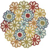Pier 1 Imports Nixie Floral Round Rug - 6'