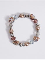 M&S Collection Pearl Swirl Bracelet
