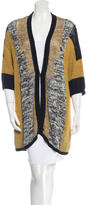 Etro Colorblock Knit Cardigan
