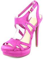 Jessica Simpson Presslie Women US 6.5 Pink Platform Heel