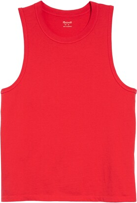 Madewell Harley Muscle Tank Solid