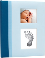 Pearhead Blue Classic Baby Book