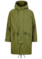 Our Legacy Sub Green Shell Parka