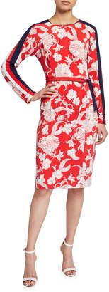Maggy London Bateau Neckline Sheath Dress