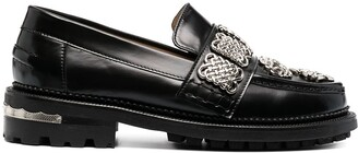 Toga Pulla Buckle-Detail Loafers
