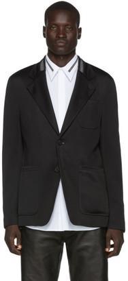 Givenchy Black Webbing Blazer