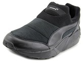 Puma Trinomic Sock X Stamp'd Nm Men Round Toe Leather Black Sneakers.