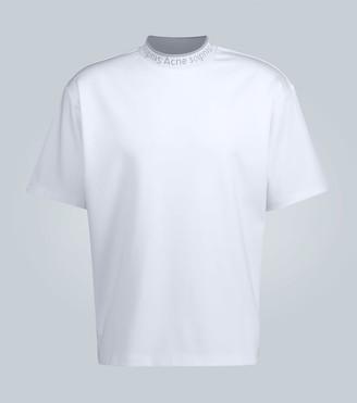 Acne Studios Extorr logo ribbed T-shirt