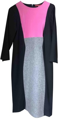 Musso Roberto \N Black Wool Dress for Women