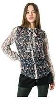 Smash Wear Women's Matak Blouse, Multicolored (Dark Multicolored), 16 (XL)