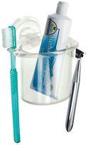 InterDesign PowerLock Suction Razor & Toothbrush Center