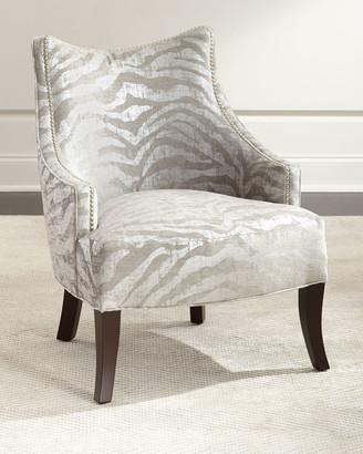 Haute House Lilia Animal-Print Chair