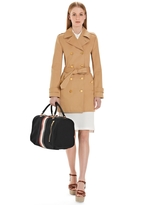 Brooks Brothers Mackintosh Short Trench