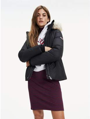Tommy Hilfiger Hooded Down Jacket