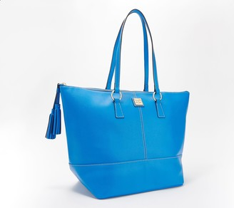 Dooney & Bourke Saffiano Leather Tote - Tobi