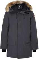 Canada Goose Langford Charcoal Fur-trimmed Parka