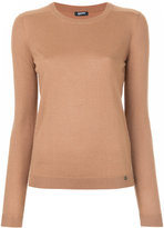Jil Sander Navy fitted knitted top