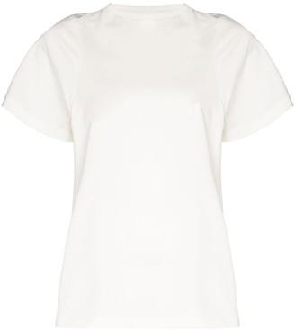 Totême Espera short sleeve cotton T-shirt