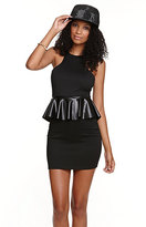 The In Crowd Black Thorn Dress