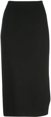 Piazza Sempione High-Waist Midi Skirt