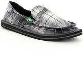 Sanuk Pick Pocket Plaid Slip-On Shoes
