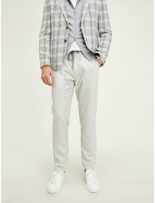 Tommy Hilfiger Slim Fit Drawstring Linen Pant