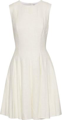 Theory Sl Pleated Tweed Dress