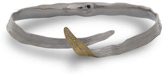 Michael Aram 18k Gold & Sterling Silver Palm Choker w/ Diamonds