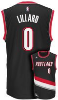 adidas Men's Portland Trail Blazers Damian Lillard Replica Jersey