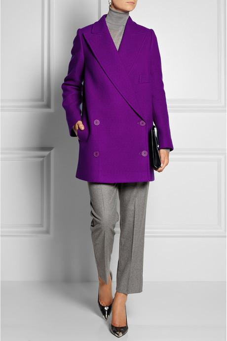 Stella McCartney Edith double-breasted wool coat
