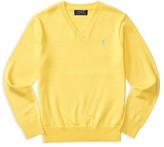 Ralph Lauren Boys' V Neck Sweater - Sizes S-XL