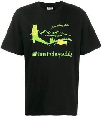 Billionaire Boys Club neon print T-shirt