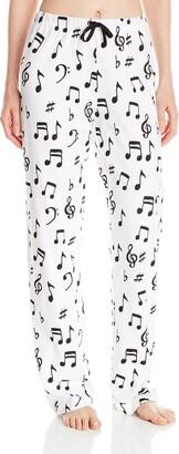 Hatley Women's Music Notes Jersey Pyjama Bottoms