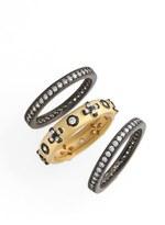 Freida Rothman Women's 'Metropolitan' Stackable Rings (Set Of 3)
