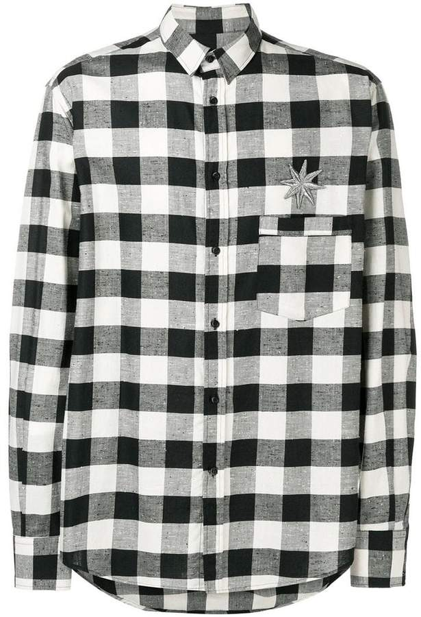 Christian Pellizzari checked shirt