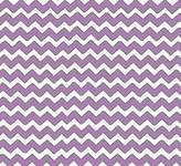 SheetWorld Fitted Square Playard Sheet (Fits Joovy) - Lilac Chevron Zigzag - Made In USA - 37.5 inches x 37.5 inches (95.25 cm x 95.25 cm)