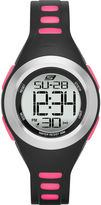 Skechers Womens Black and Pink Strap Digital Watch