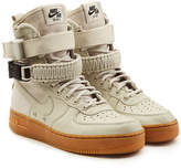 Nike SF Air Force 1 High Top Sneakers with Leather