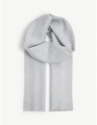 Johnstons Ultra-fine merino wool scarf