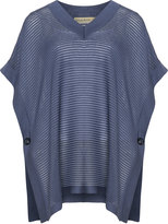 Isolde Roth Plus Size Cotton blend knitted cape