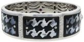 Roberto Coin 18K White Gold Black Onyx Diamond Bangle